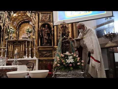 Semana Santa León 2021 | Retirada del luto de la Virgen de la Encina