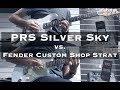 John Mayer Silver Sky vs. Custom Shop Strat