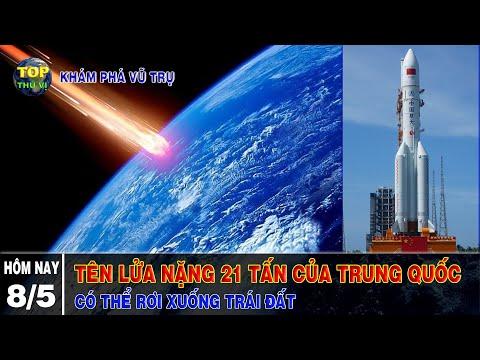 Tên lửa của Trung quốc mất kiểm soát có thể rơi xuống Trái đất ngày 8/5  Khoa học vũ trụ-Top thú vị 