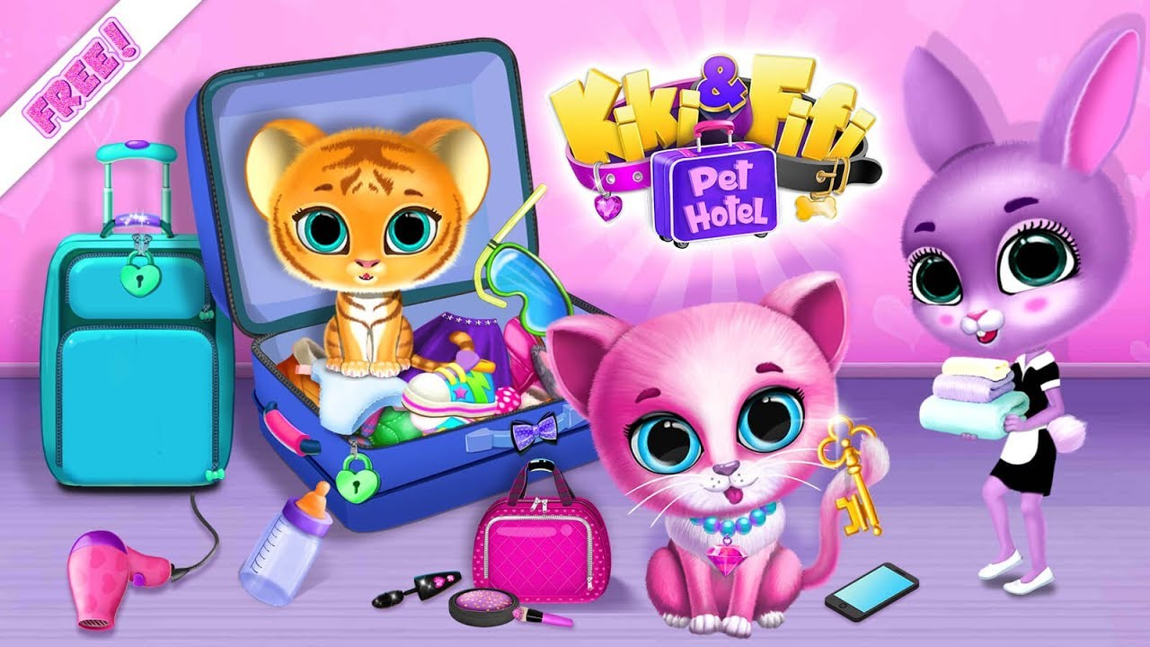 Kiki & Fifi Pet Hotel - My Virtual Animal House - TutoTOONS Games for Kids - Official Trailer