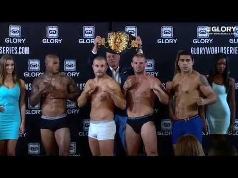 GLORY 15 Istanbul - Weigh In