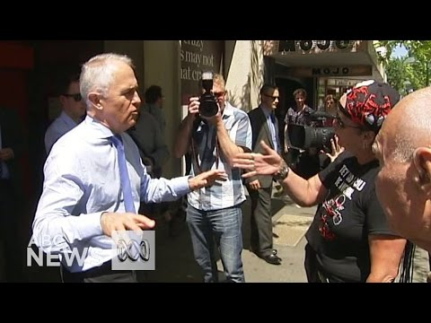 Turnbull confronted over nuclear waste storage