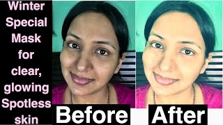 How to get FAIR SKIN, LIGHT SKIN, GLOWING SKIN, SOFT SKIN, YOUNG SKIN | DIY GLOWING SKIN MASK K
