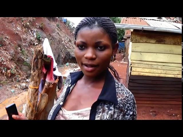 Les construcions anarchiques dans la ville de Bukavu.
