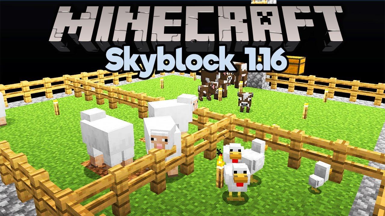 Minecraft SkyBlock spawn - Annora