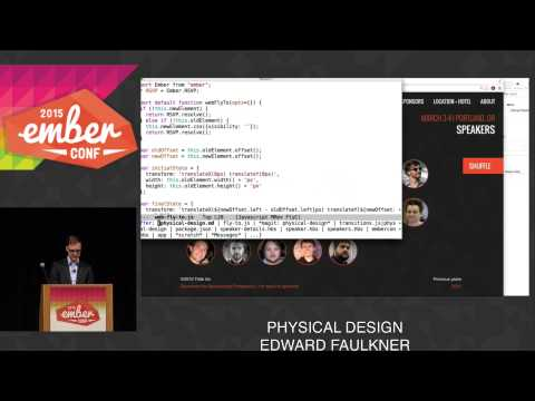EMBERCONF 2015 - PHYSICAL DESIGN