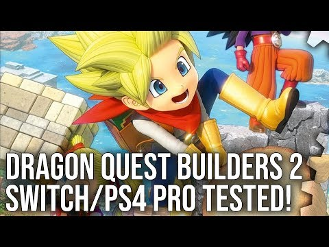 Digital Foundry examines Dragon Quest Builders 2 Switch performance
