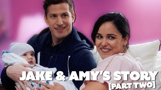 Jake & Amy's Love Story (Part 2) | Brooklyn Nine-Nine | Comedy Bites