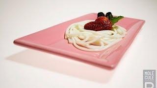 Molecular Gastronomy - White Chocolate Spaghetti