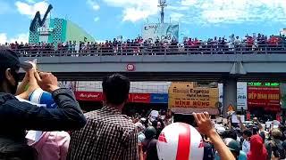 Lăng Cha Cả người dân đoàn kết xuống đường biểu tình chống TQ và luật đặc Khu
