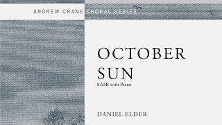 """Daniel Elder - """"October Sun"""""""