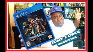 JUMP FORCE (PS4) Unboxing!! #bandainamco