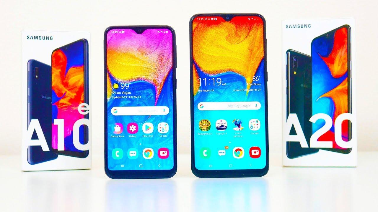 Samsung Galaxy A20 Vs Galaxy A10e Metro By Tmobile Youtube