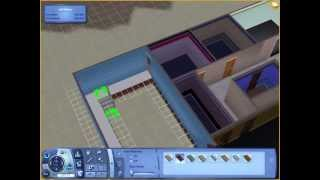 Sims 3: How To Attach A Garage To A Foundation Without Cheats- Tutorial