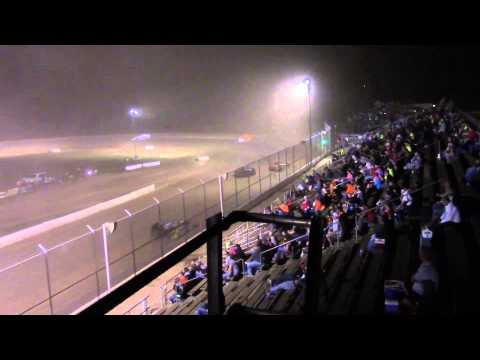 Muskingum County Speedway Mod Feature 8-29-15