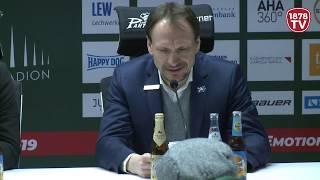 1878 TV | Pressekonferenz 01.03.2019 Augsburg - Mannheim 2:6