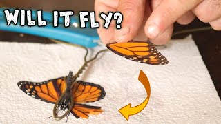 We Gave a BUTTERFLY a NEW WING!!!