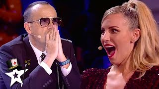 SHOCKING AUDITION! Magician Hypnotises Judges on Stage | Magicians Got Talent