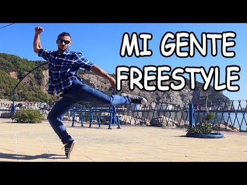 J  Balvin Willy William - Mi Gente (DAMSTERAM & JRND Remix) Freestyle dance video