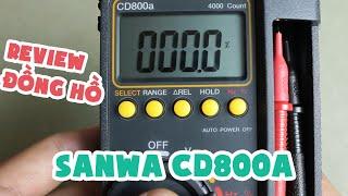 REVIEW ĐỒNG HỒ ĐO VẠN NĂNG SANWA CD800A
