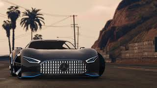 GTA SA MERCEDES BENZ AMG VISION GT + DOWNLOAD