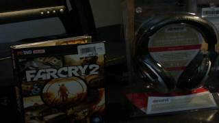 Unboxing Far Cry 2(First PC Game I Bought)And Some Headset