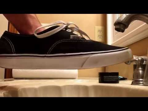 """""""THE BEST WAY TO CLEAN ANY SHOE"""" (Vans especially)"""