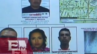 Desarticulan en el DF a banda de secuestradores liderada por recluso/ Vianey Esquinca