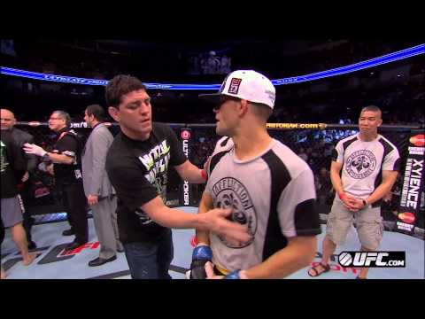 UFC on FOX 7: Brown, Thomson, & Cormier Octagon Interviews