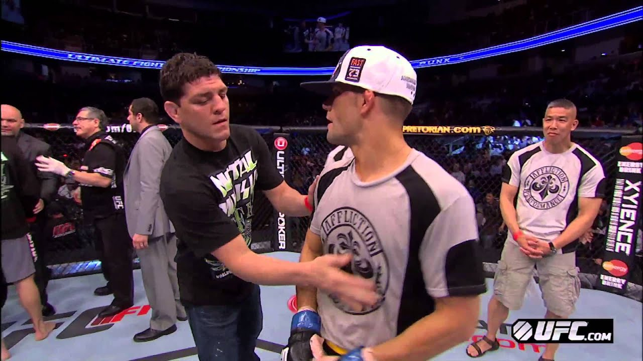 UFC on FOX 7: Brown, Thomson, & Cormier Octagon Interviews ...
