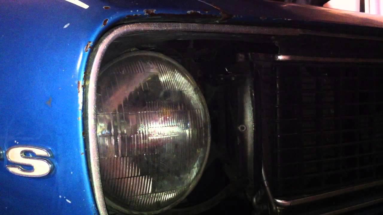 hight resolution of 1967 rally sport hideaway headlight door trouble shooting