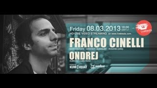 Franco Cinelli & Ondrej @ Livebeats Zurich - KUMQUAT 4h Live DJ Set Video Broadcast