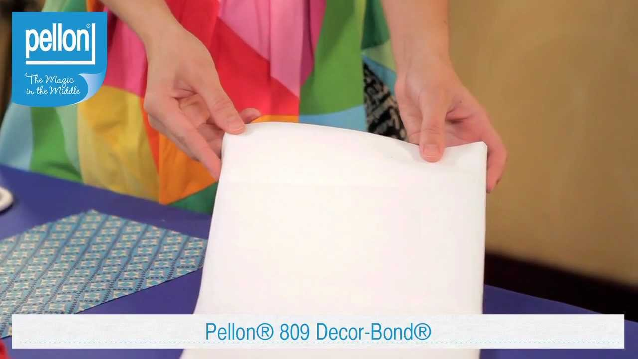 Pellon 809 Decor Bond Youtube