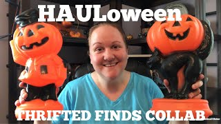 HAULoween Thrifted Finds Collab | Vintage Halloween Haul