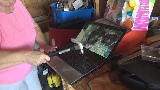 Grandma SMASHES Laptop! thumbnail
