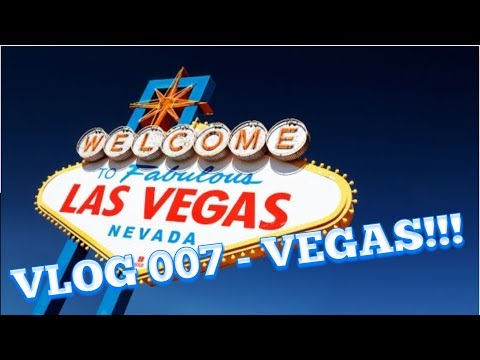 VLOG 007 - VEGAS!!! // A DAY OF VEGAN EATING