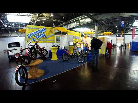 Timelapse MC Post Leipzig e.V. I Aufbau Motorradmesse Leipzig 2019