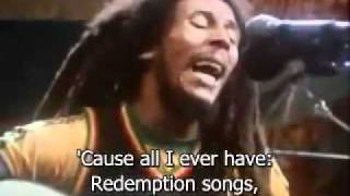 Bob Marley   Redemption Song (With Lyrics )