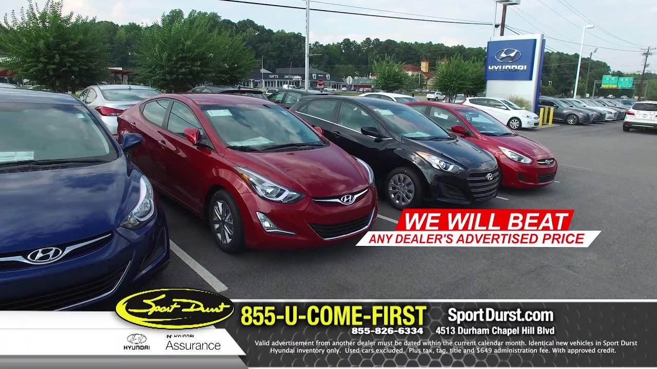 Sport Durst Hyundai >> Sport Durst Hyundai June 2018 Specials