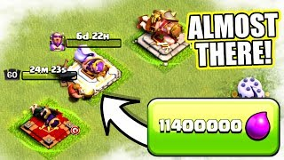 THE END IS NEAR...............Clash Of Clans - ROAD TO MAX TOWN HALL 12!