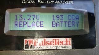 HOW TO TEST BATTERIES ON SEMI TRUCK / TEST BATTERY WITH BATTERY ANALYZER
