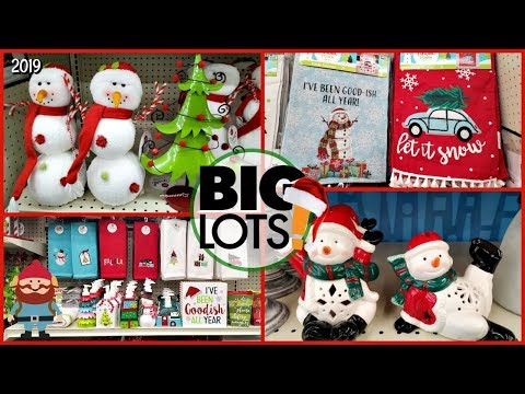 BIG LOTS Christmas BATHROOM DECOR & MORE *  SHOP WITH ME 2019