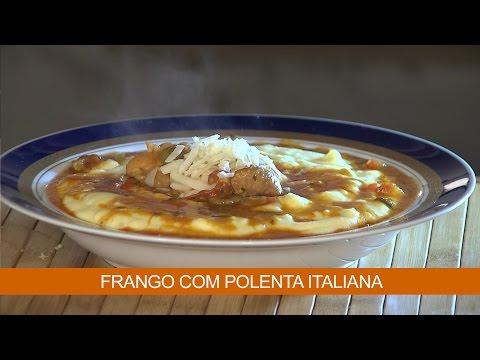 FRANGO COM POLENTA ITALIANA