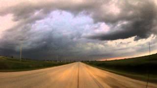 Supercell Thunderstorm Melita, MB July 27, 2015