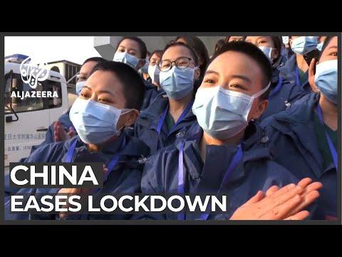 China Coronavirus Epicentre Hubei Eases Lockdown
