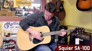 Squier by Fender SA-100 Upgrade Acoustic Guitar Pack