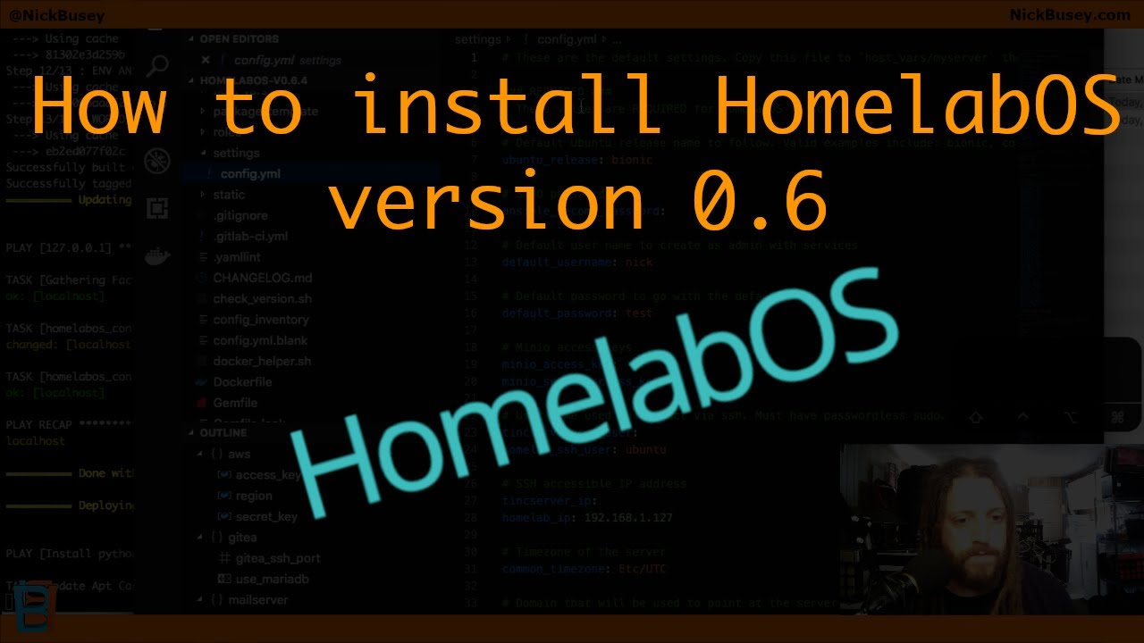 How to install HomelabOS v0 6 – Self-hosted cloud services