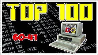 🥇 TOP 100 MEJORES JUEGOS DE MS DOS DE LA HISTORIA 60-41 para el pc classic