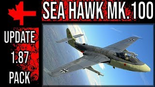 War Thunder - Update 1.87 Pack - German Sea Hawk