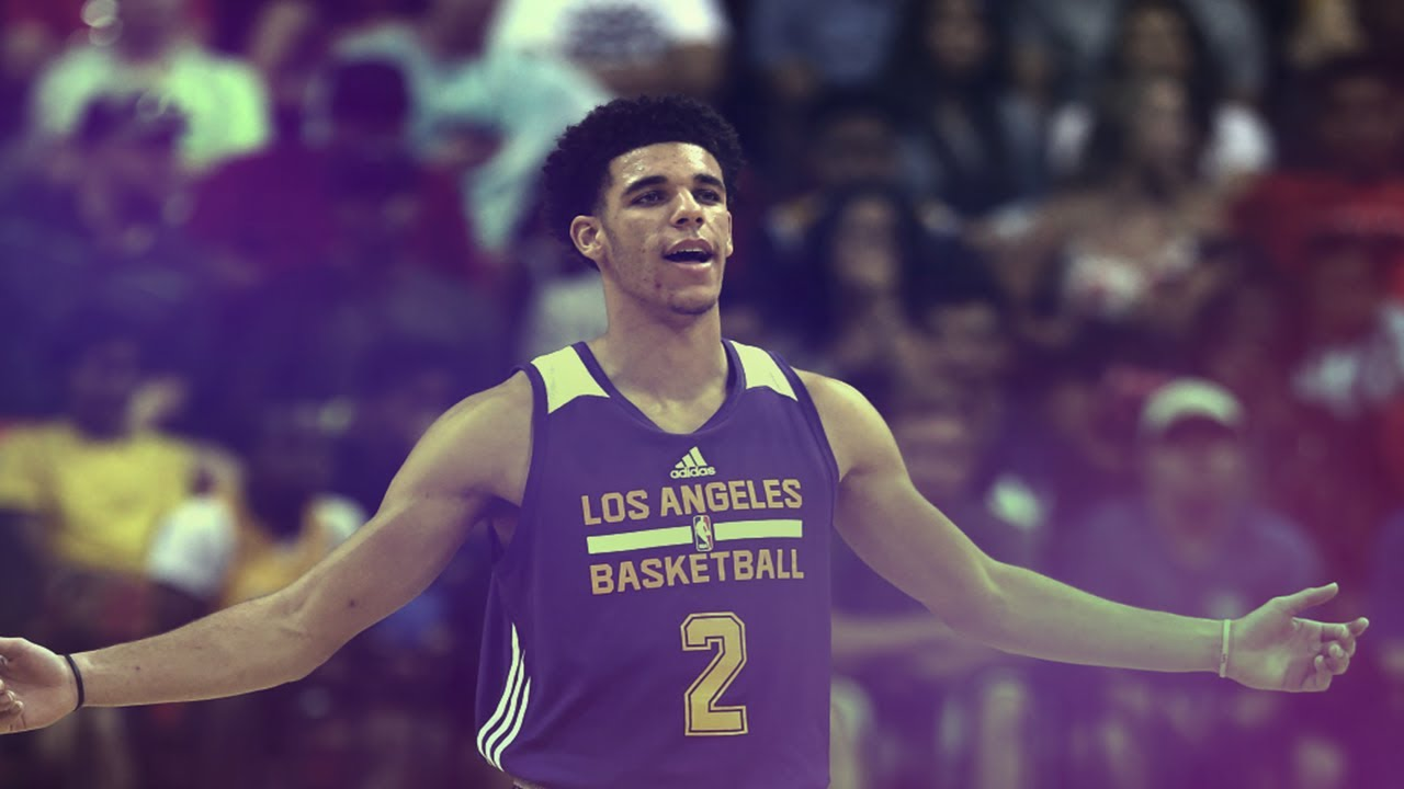 Lonzo Ball has become the face of the Lakers before he's played a single game